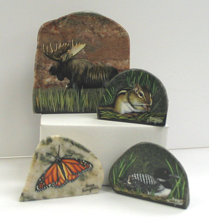 Karen Singleton Painted Rocks