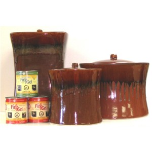 Fire Pots - Chestnut