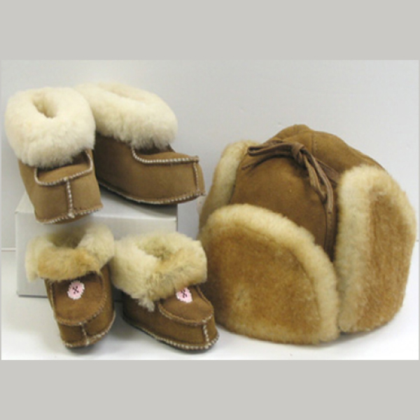Lambskin Hat, Moccassins