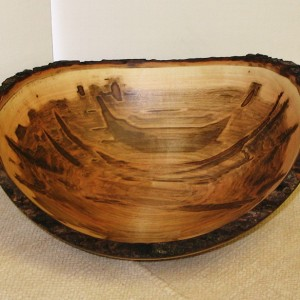 Large Red Maple Bowl