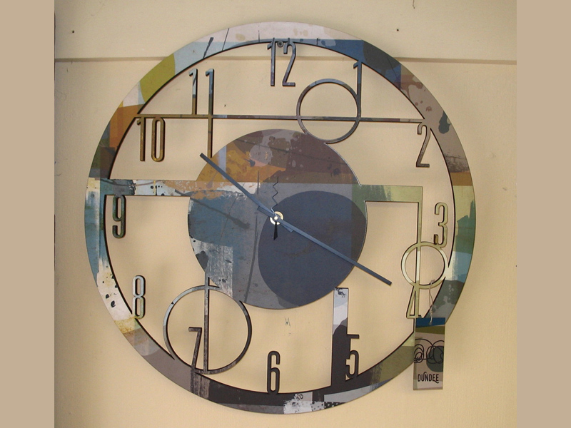 Clock—Dundee Designs