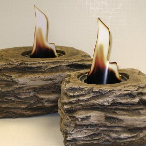 Fire Pots—Slate Look