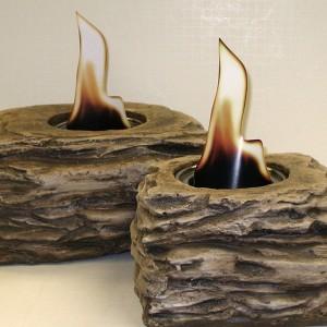 Fire Pots—Slate Look