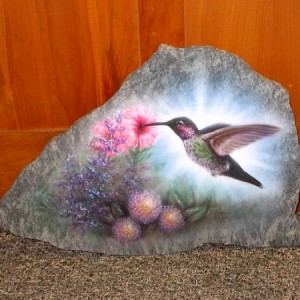 Garden Rock - Hummingbird
