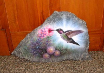 Garden Rock – Hummingbird