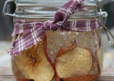 Gelmania Candle – Apple Cinnamon