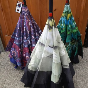 Reversible Umbrellas