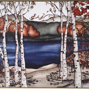 Renée Bovet - Birch Trees