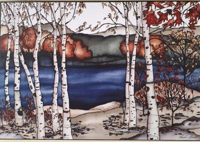 Renée Bovet – Birch Trees