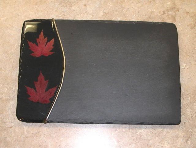 Maple Leaf Cheese Board