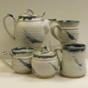 Stonethrow Pottery - Glacier Blue