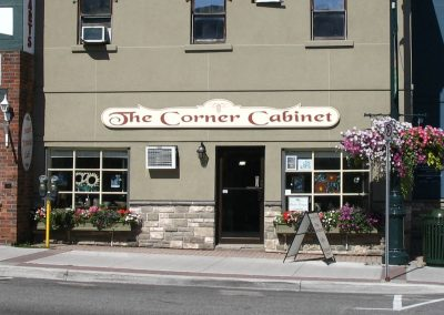 The Corner Cabinet storefront